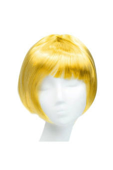 Synthetic Fiber BOBO Wig (Yellow)
