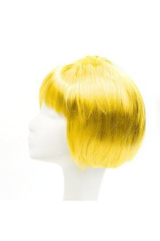 Synthetic Fiber BOBO Wig (Yellow) - picture 2