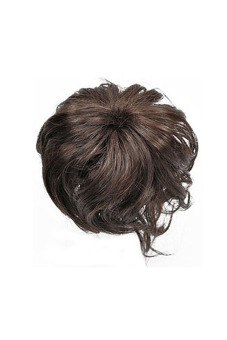 Synthetic Fiber Hair Bun (Dark Brown)