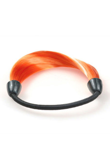 Synthetic Fiber Hair Rope Holder (Orange) - picture 2