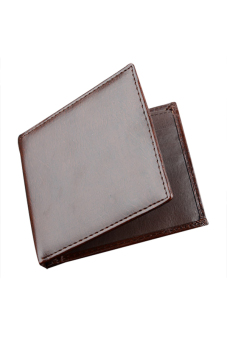 Synthetic Leather Wallet (Brown) - picture 2