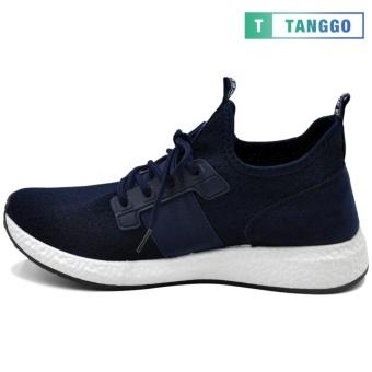 Tanggo 1979 Korean Fashion Sneakers Breathable Canvas Shoes for Men (navy blue) - 3