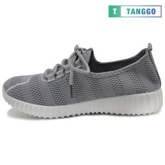 Tanggo Fashion Mesh Sneakers Shoes for Women 3533 (Grey/white) - 3