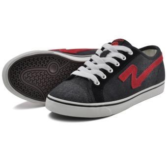 Tanggo Fashion Sneakers Men's Rubber Shoes 43M1392 (black) - 3