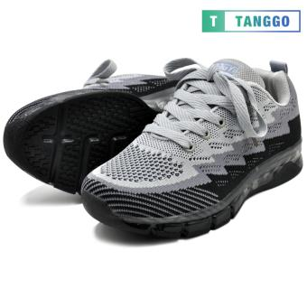Tanggo Fashion Sneakers Rubber Shoes for Women A-728 (black/grey)