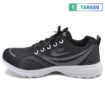 Tanggo Fashion Sneakers Rubber Shoes for Women - ZF-2033 (black) - 2
