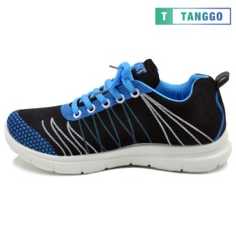 Tanggo Fashion Sneakers Rubber Shoes for Women - ZF788-49(black/blue) - 2