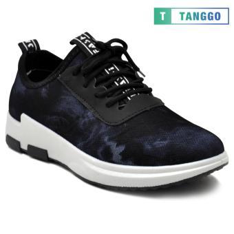 Tanggo Fashion Sneakers Women's Rubber Shoes 607A (black/white) - 3