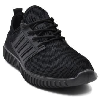 Tanggo Leo Fashion Sneakers Men's Rubber Shoes (black) - 4