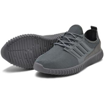 Tanggo Leo Fashion Sneakers Men's Rubber Shoes (grey) - 3