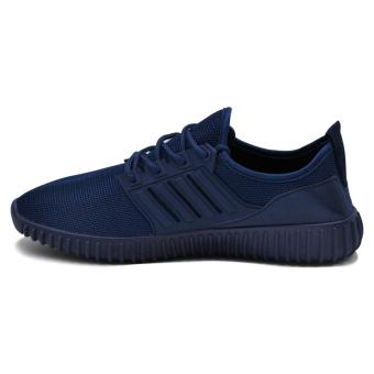 Tanggo Leo Fashion Sneakers Men's Rubber Shoes (navy blue) - 2