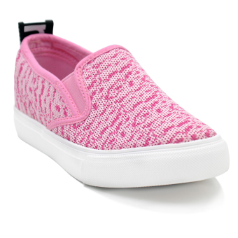 Tanggo Olivia Low Cut High Quality Sneakers Slip-On Fashion Shoes(pink)