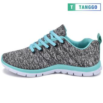 Tanggo Women's Sneakers Rubber Shoes 59-2 with Free 1 Precious Herbal Way Foot Powder 50g (grey) - 3
