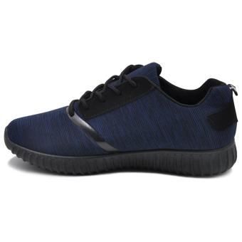 Tanggo Xavier Fashion Sneakers Men's Rubber Shoes (navy blue) - 3