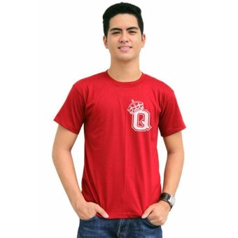 Tanshirts King's Initial Q Tee (Maroon) Set of 4 - picture 2