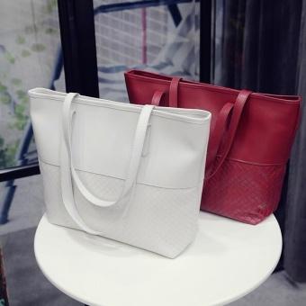 TB Ladies handbags shoulder messenger bag retro handbag White - intl - 3