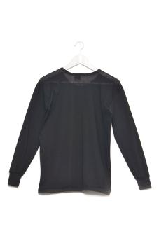 Tex-Cock Long Sleeves Camisa de Chino (Black) - 3