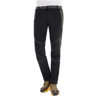 TF Men and women sports pants Outdoor sport Riding Climbing Stretchpants Quick drying pants (Black) - intl - 3