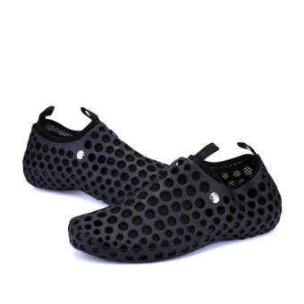 The Lazy Man Set Foot Beach Shoes (Black) - picture 2