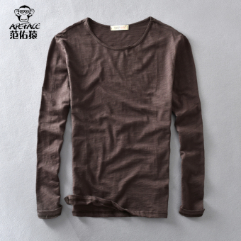Tianzhu Jianyue cotton solid color men's T-shirt base shirt (805 PARK'S color)
