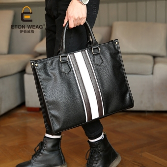 Tidog British business handbag men's bags leisure shoulder briefcase tide restoring ancient ways men's bags - intl