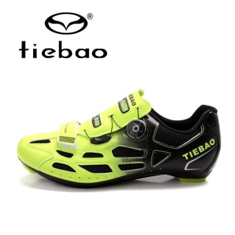 Tiebao R1259 Outdoor Athletic Racing Road Cycling Shoes,AutoLock/SelfLock Bike Shoes, SPD/SL/LOOK-KEO Cleated Bicycle Shoes- intl