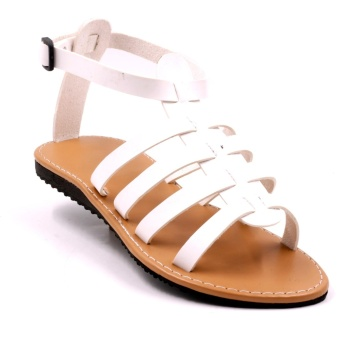 Tokkyo Margaery Flat Sandals (White)
