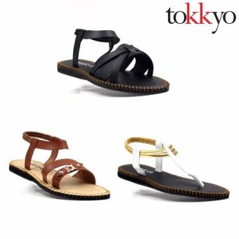 Tokkyo Women's Set of 3 Sandals #9 - 2
