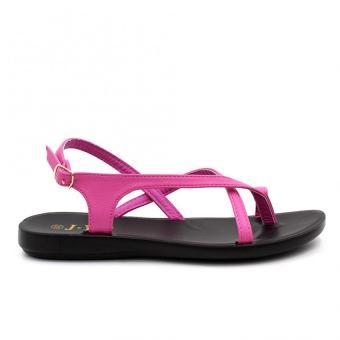 Tokyo Shoes Women's Selene Flat Sandals (Pink) - 2