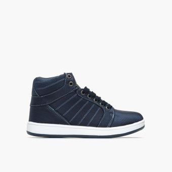 Tough Kids Boys TK Resty 464066 Hi-cut Sneakers (Navy Blue)