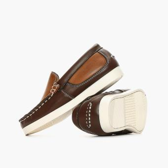 Tough Kids Girls Gany Loafers (Brown) - 3