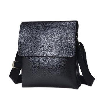 TP 2016 Mens Bag On His Shoulder Pu Leather Mens CrossbodyMessengerbags Quality Hand Bags For Man Black Brown Travel HandbagVp16 - intl - 2