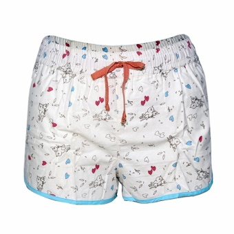 Treeco White Heart Ladies Short