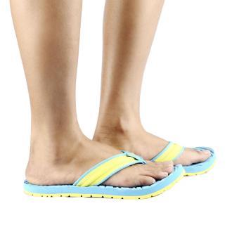 Tribu Outdoor Sandals Yakan (Aqua Blue/Yellow) - 5