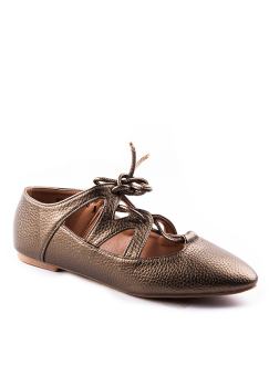 Twinky Sophie Flats- Bronze - picture 2