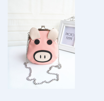 ULTRAGROW cute New style pink pig bag mobile phone bag women's bag