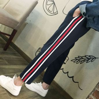 Ulzzang Korean-style spring and summer style wide leg pants ankle-length pants (304)