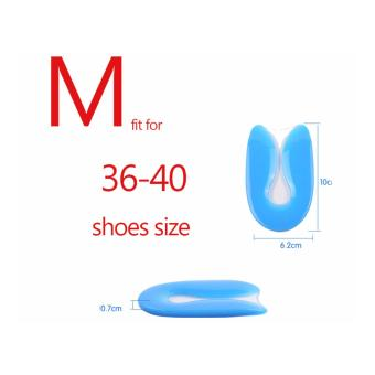 Unisex Silicone Shoes Cushion Pad Gel U-Shape Plantar FasciitisFoot pain Heel - intl - 5