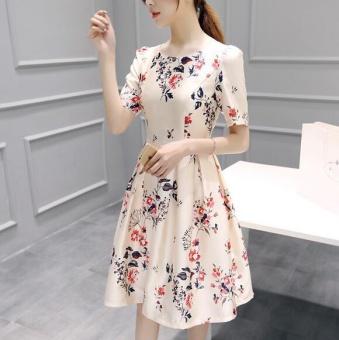 UR A word skirt short sleeved dress - intl - 3
