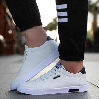 UR Sneakers men canvas shoes (white) - intl - 2