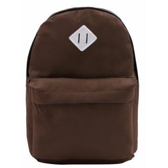 Urban Hikers Lash Tab Casual Backpack (Plain Brown) - 2