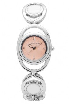 Valentino Luxe Women's Watch 20121538 (Silver/Pink Dial)