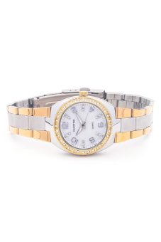 Valentino Women's Gold/Silver Stainless Steel Band Watch 20121790 - picture 2