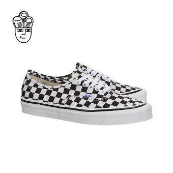 Vans Authentic 44 DX (Anaheim Factory) Lifestyle Shoes Black / Checkerboard vn0a38enoak -SH - 3