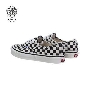 Vans Authentic 44 DX (Anaheim Factory) Lifestyle Shoes Black / Checkerboard vn0a38enoak -SH - 4