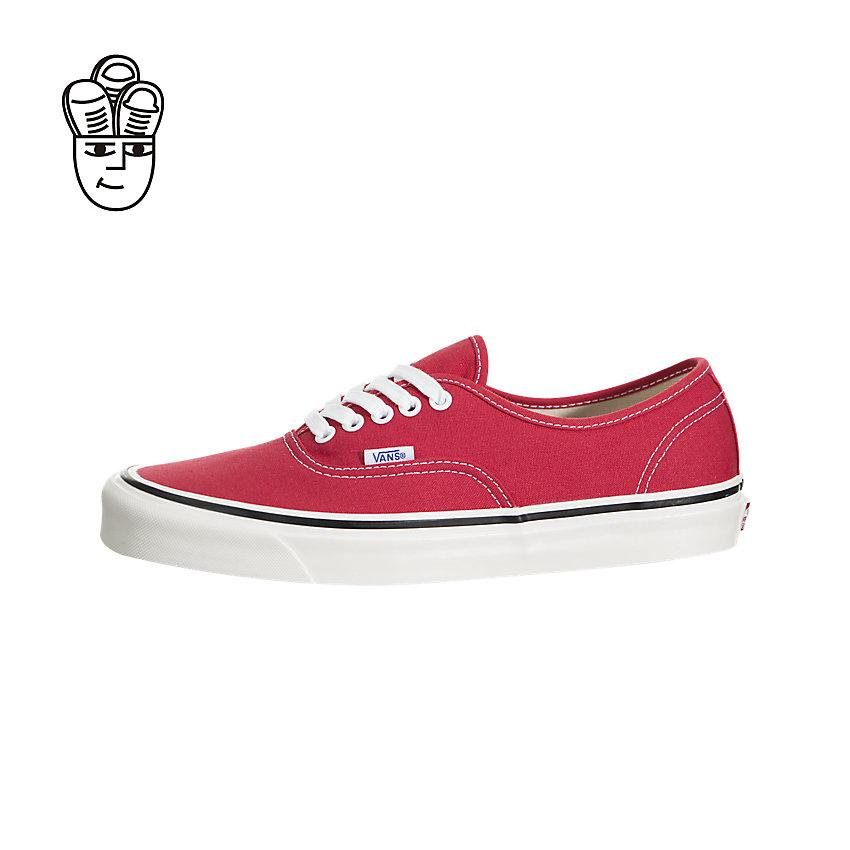 vans authentic red price