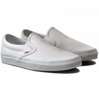 Vans Classic Slip On True White Canvas - 4