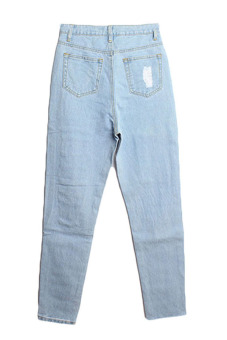 Velishy High Waist Denim Pants (Blue) - picture 2