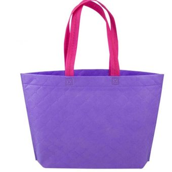 Velishy Shopping Bag Eco Travel Reusable Bags Purple - picture 2
