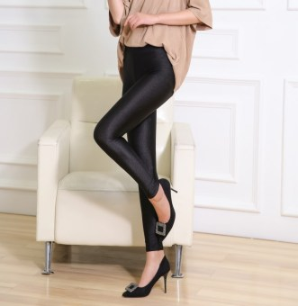 Versatile outerwear high-waisted stretch fitness Pants pants ([Ankle-length black])